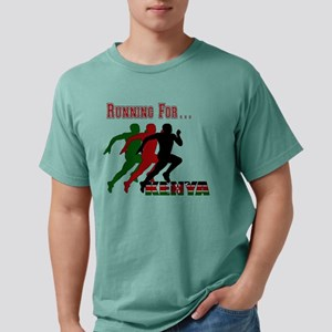 Kenya Running Mens Comfort Colors Shirt
