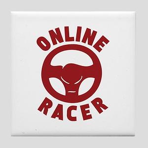 Online Racer Tile Coaster