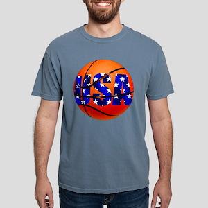 USA Basketball Mens Comfort Colors Shirt