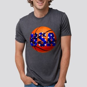 USA Basketball Mens Tri-blend T-Shirt