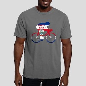 Costa Rica Cycling Mens Comfort Colors Shirt
