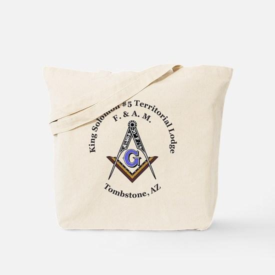 King Solomon #5 Territorial Lodge Tote Bag