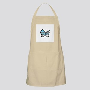 Blue Baby Buggy BBQ Apron