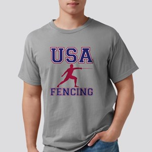 USA Fencing Mens Comfort Colors Shirt