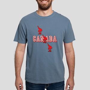 Canada Speedskating Mens Comfort Colors Shirt