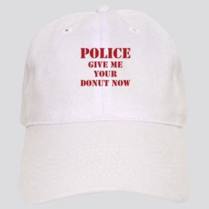 Police give me your donut now Cap
