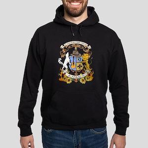 Kaniac Crest English Motto Hoodie (dark)