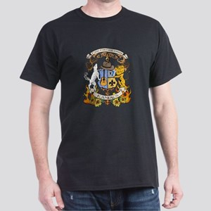 Kaniac Crest English Motto Dark T-Shirt
