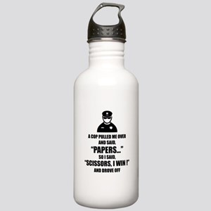 A cop pulled me over ... Stainless Water Bottle 1.