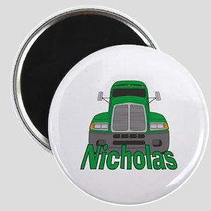 Trucker Nicholas Magnet