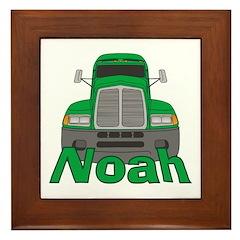 Trucker Noah Framed Tile