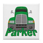 Trucker Parker Tile Coaster