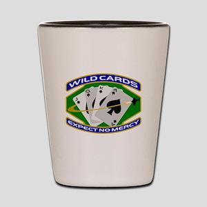 Wildcards Shot Glass