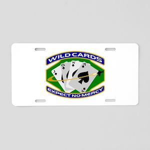 Wildcards Aluminum License Plate