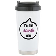 I'm the sporty one! Stainless Steel Travel Mug