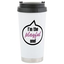 I'm the playful one Stainless Steel Travel Mug