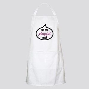 I'm the playful one Apron