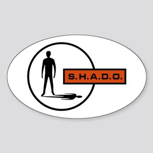 S.H.A.D.O. Sticker (Oval)