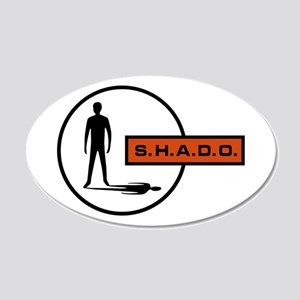 S.H.A.D.O. 20x12 Oval Wall Decal