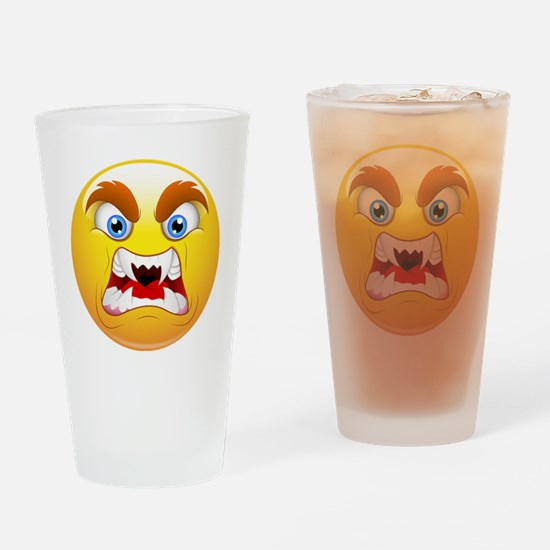 Cute Scary monster Drinking Glass