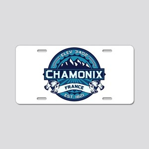 Chamonix Ice Aluminum License Plate