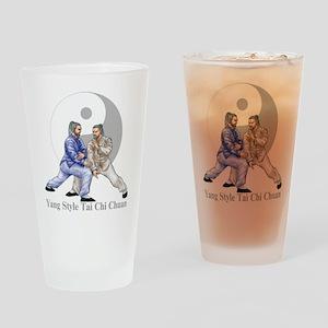 Yang Tai Chi Drinking Glass