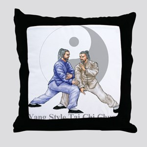 Yang Tai Chi Throw Pillow