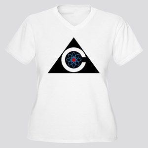Colossus Logo Women's Plus Size V-Neck T-Shirt