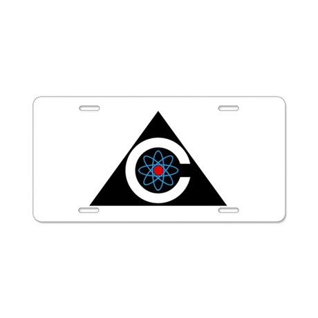 Colossus Logo Aluminum License Plate