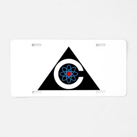 Colossus Logo Aluminum License Plate