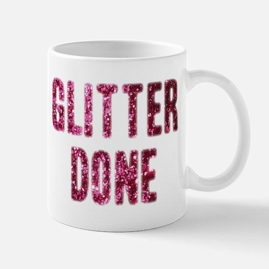 Glitter Done H Mug
