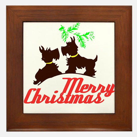 Merry Christmas Scotty Dogs - Kitschy Christmas Fr