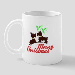 Merry Christmas Scotty Dogs - Kitschy Christmas Mu