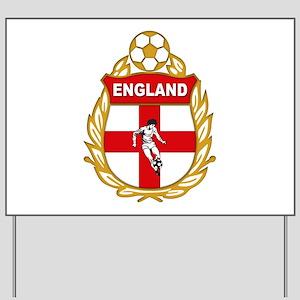 England World cup Soccer Yard Sign