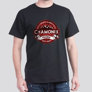 Chamonix Red Dark T-Shirt