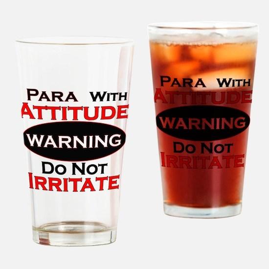 Unique Paraeducator Drinking Glass