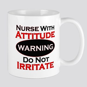 Attitude nurse copy Mugs