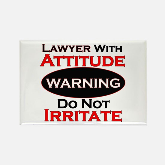 Attitude lawyer Magnets