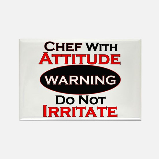 Cute Chefs Rectangle Magnet (100 pack)