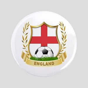 "England World cup Soccer 3.5"" Button"