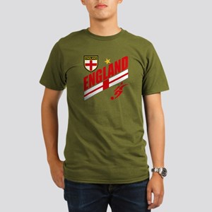 England World cup Soccer Organic Men's T-Shirt (da