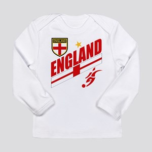 England World cup Soccer Long Sleeve Infant T-Shir
