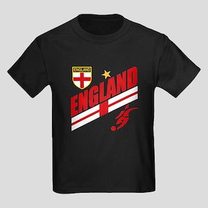 England World cup Soccer Kids Dark T-Shirt