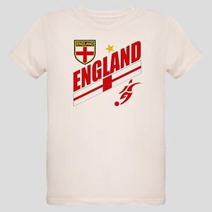 England World cup Soccer Organic Kids T-Shirt