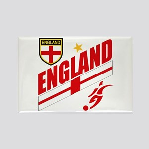 England World cup Soccer Rectangle Magnet