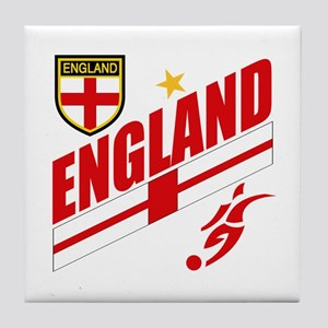 England World cup Soccer Tile Coaster
