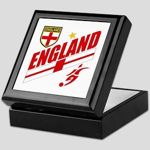 England World cup Soccer Keepsake Box