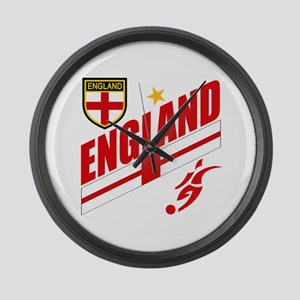 England World cup Soccer Large Wall Clock