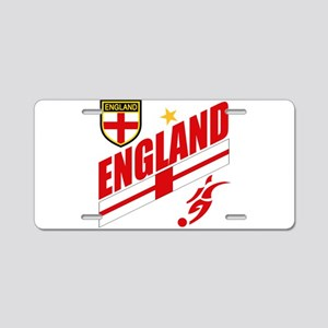 England World cup Soccer Aluminum License Plate