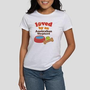 Australian Shepherd Dog Gift Women's T-Shirt